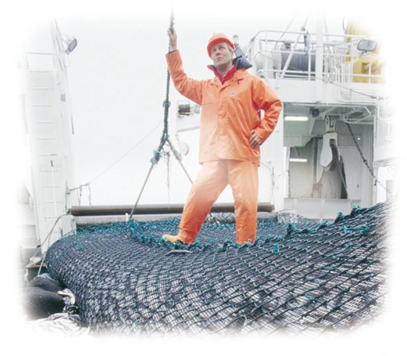 Fisker på trål