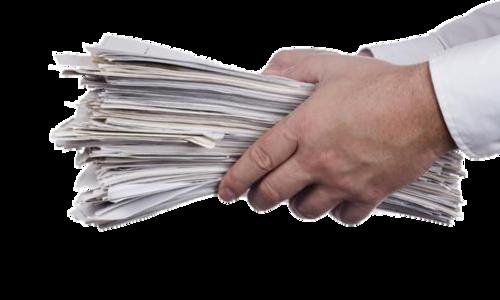 Papirbunke