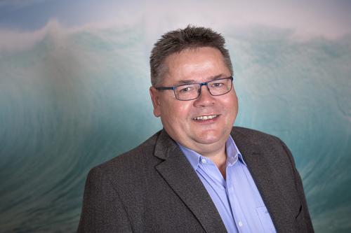 Forbundsleder Johnny Hansen, Norsk Sjømannsforbund, er glad.