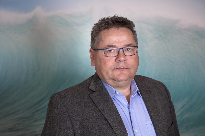 Forbundsleder Johnny Hansen i Norsk Sjømannsforbund.