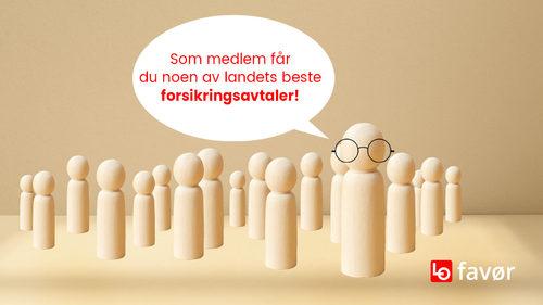 LOfavør - noen av landets beste forsikringsavtaler.