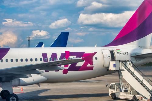 Sjømannsforbundet bruker ikke Wizz Air - bilde av fly fra Wizz Air