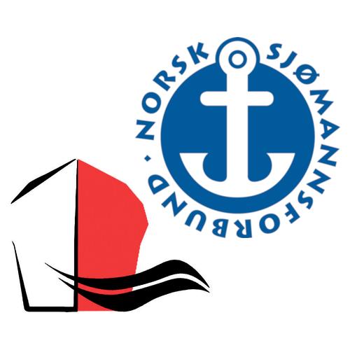 Logoene til Kystrederiene og Norsk Sjømannsforbund
