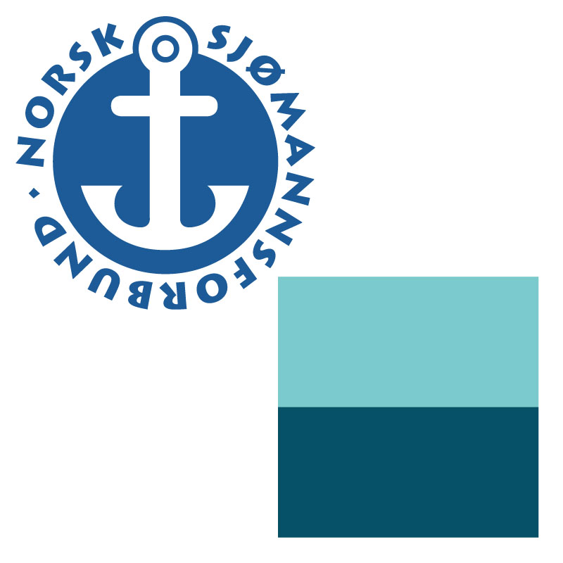 Logoer for Norsk Sjømannsforbund og Norges Rederiforbund