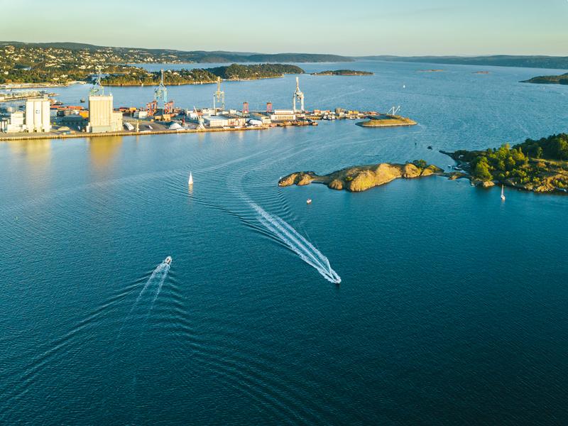 Bilde av Sjursøya i Oslo havn